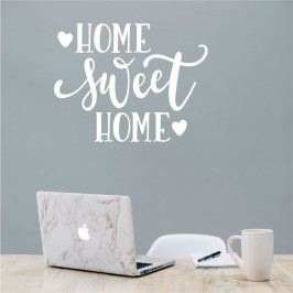 Bílá nástěnná samolepka North Carolina Scandinavian Home Decors Motto V36