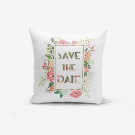 Povlak na polštář s příměsí bavlny Minimalist Cushion Covers Saand,45x45cm