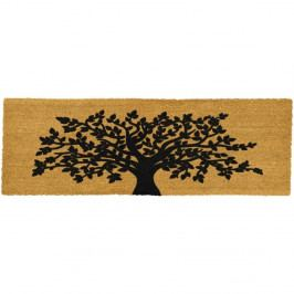 Rohožka z přírodního kokosového vlákna Artsy Doormats Tree Of Life,120x40cm