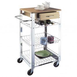 Pojízdný vozík s pracovní deskou a šuplíkem Tomasucci Light