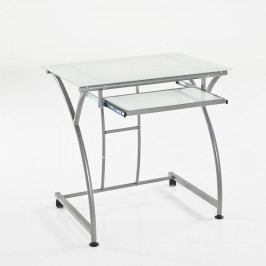 Pracovní stůl se skleněnou pracovní deskou Tomasucci Idea