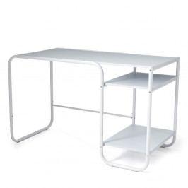 Bílý počítačevý stolek Tomasucci Los Angeles