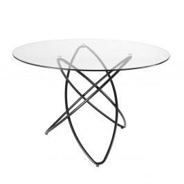 Jídelní stůl s deskou z tvrzeného skla Tomasucci Hula Hoop, ⌀ 120cm