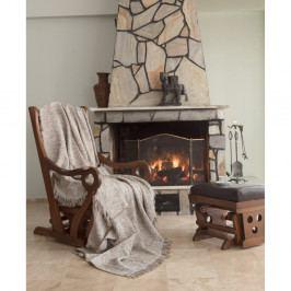 Bavlněný pléd Linen, 220 x 170 cm