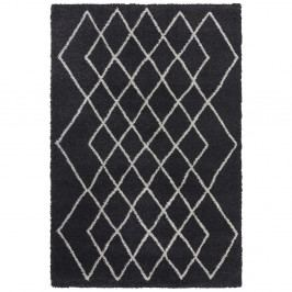 Antracitový koberec Elle Decor Passion Bron, 120 x 170 cm