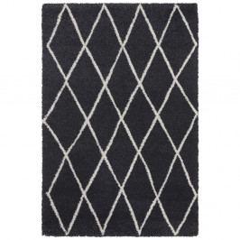 Antracitový koberec Elle Decor Passion Abbeville, 120 x 170 cm