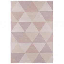 Růžový koberec vhodný i na ven Elle Decor Secret Sevres, 160 x 230 cm