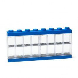 Modrá sběratelská skříňka na 16minifigurek LEGO®