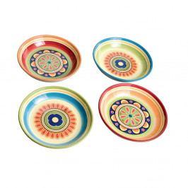 Sada 4 talířů ze železa Brandani Plate