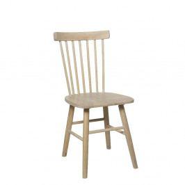 Světle hnědá jídelní židle z břízy Folke Disco
