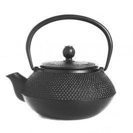 Černá litinová čajová konvice Tasev Linden, 800ml