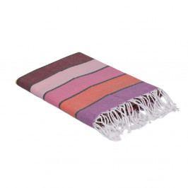 Barevný bavlněný ručník, 180 x 100 cm