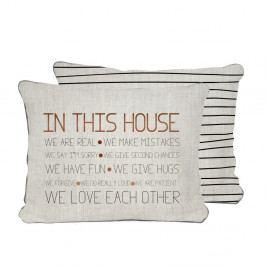 Oboustranný povlak na polštář Really Nice Things House, 45x45cm