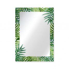 Nástěnné zrcadlo Surdic Espejo Decorado Monstera, 50 x 70 cm