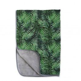 Oboustranná deka z mikrovlákna Surdic Jungle, 130 x 170 cm