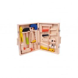 Dětský dřevěný set nářadí v kufříku Legler Toy
