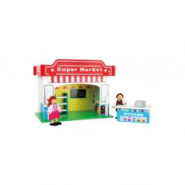 Dětský dřevěný supermarket Legler Playhouse Supermarket