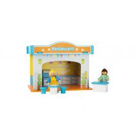 Dětská dřevěná restaurace Legler Playhouse Restaurant
