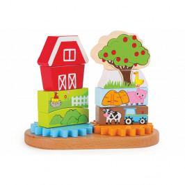 Dřevěná hračka Legler Farm Puzzle