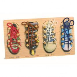 Sada bot na trénování zavazování tkaniček Legler Tryshoes