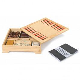 Box s deskovými hrami Legler Playtime