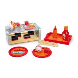 Dřevěná hrací sada Legler Grill