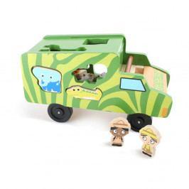 Skládačka Legler Safari Bus