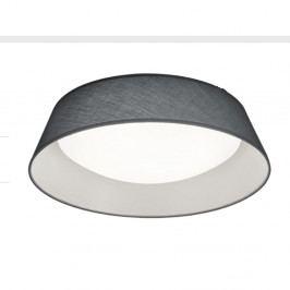 Černé stropní LED svítidlo Trio Ponts, průměr 45 cm