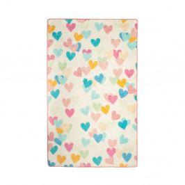 Dětský koberec Hearts, 140x190cm