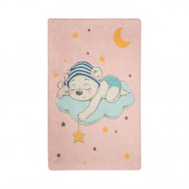 Dětský koberec Pink Sleep, 140x190cm