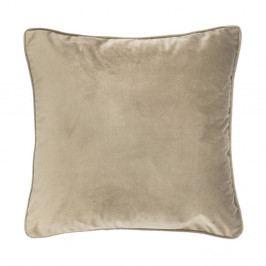 Světle béžový polštář Tiseco Home Studio Velvety, 45x45cm