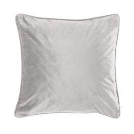 Světle šedý polštář Tiseco Home Studio Velvety, 45x45cm