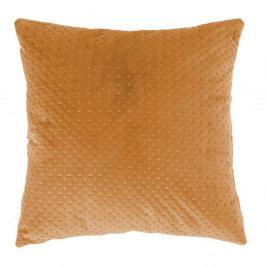 Tmavě žlutý polštář Tiseco Home Studio Textured, 45x45cm