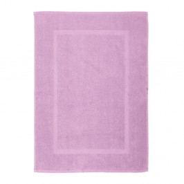 Šeříkově fialová bavlněná koupelnová předložka Wenko Lilac, 50x70cm