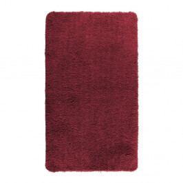 Červená koupelnová předložka Wenko Belize, 55x65cm