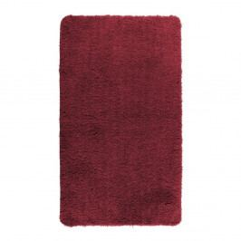 Červená koupelnová předložka Wenko Belize, 90x60cm