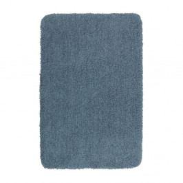 Tmavě modrá koupelnová předložka Wenko Mélange, 65x55cm