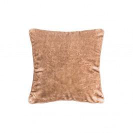 Hnědý polštář Tiseco Home Studio Bitone, 45 x 45 cm