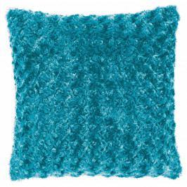 Tyrkysově modrý povlak na polštář Tiseco Home Studio Curl, 45 x 45 cm