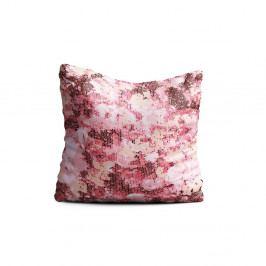 Růžový polštář Oyo home Rory, 40x40cm