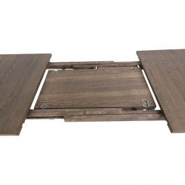 Hnědá přídavná rozkládací deska stolu Actona A-Line