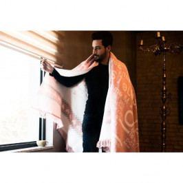 Bavlněná deka Aksu Love,150x150cm