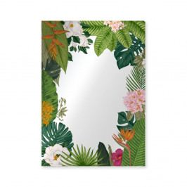 Nástěnné zrcadlo Surdic Espejo Decorado Tropical Frame, 50 x 70 cm
