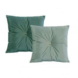 Sada 2 zelených polštářů JohnsonStyle Magic Velvet, 55 x 55 cm