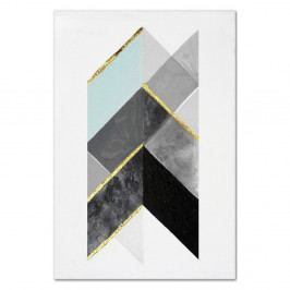 Nástěnný ručně malovaný obraz JohnsonStyle The Direction, 60 x 90 cm