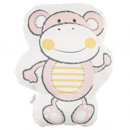 Růžový dětský polštářek s příměsí bavlny Apolena Pillow Toy Beatto, 31 x 36 cm