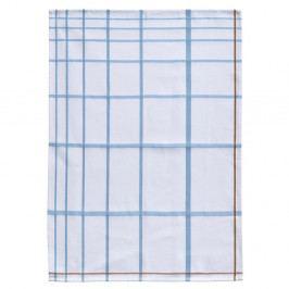 Bílo-modrá bavlněná kuchyňská utěrka Zone Garro, 50 x 70 cm