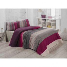 Lehký prošívaný bavlněný přehoz přes postel Carro Mundo, 140 x 200 cm