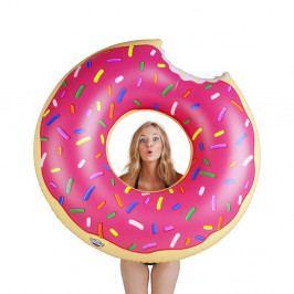 Růžový nafukovací kruh ve tvaru donutu Big Mouth Inc.