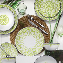 24dílná sada porcelánového nádobí Kutahya Pareto